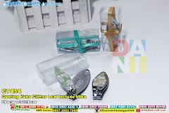 Gunting Kuku Glitter Leaf Include Mika