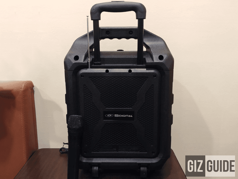 SDigital Bass Cruzer Portable Rugged PA System Is Now In PH For PHP 8999!