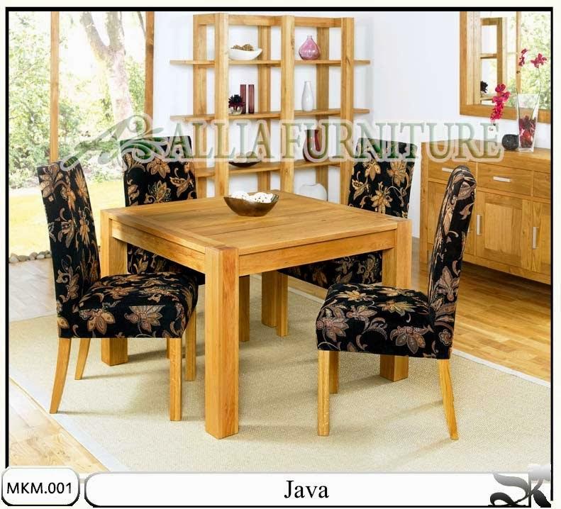 Kursi meja makan minimalis model Java