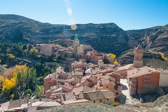 Albarracin, uno de los pueblo mas bonitos de España. Teruel