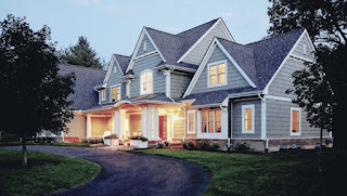 Exquisite Classic House Architecture in Large Design