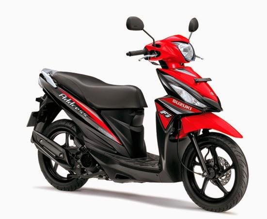 harga motor Suzuki Address FI