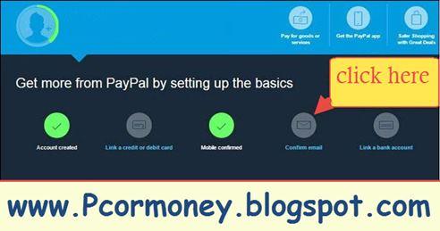 paypal par account kaise banaye, paypal par account banane ki steps in hindi-pcormoney.blogspot.com