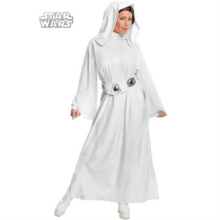 Women's Star Wars Deluxe Princess Leia Adult Costume for Halloween