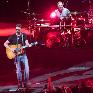 eric church and drummer in phoenix, arizona