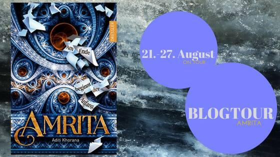 Blogtour zu Amrita von Aditi Khorana