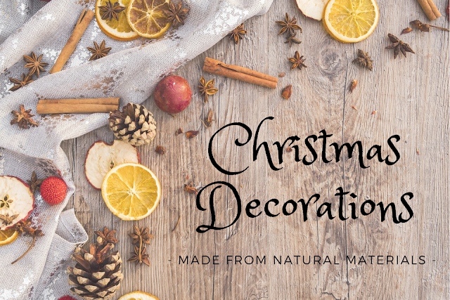 Ideas for natural Christmas decorations