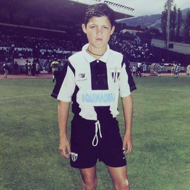Cristiano Ronaldo in Andorinha