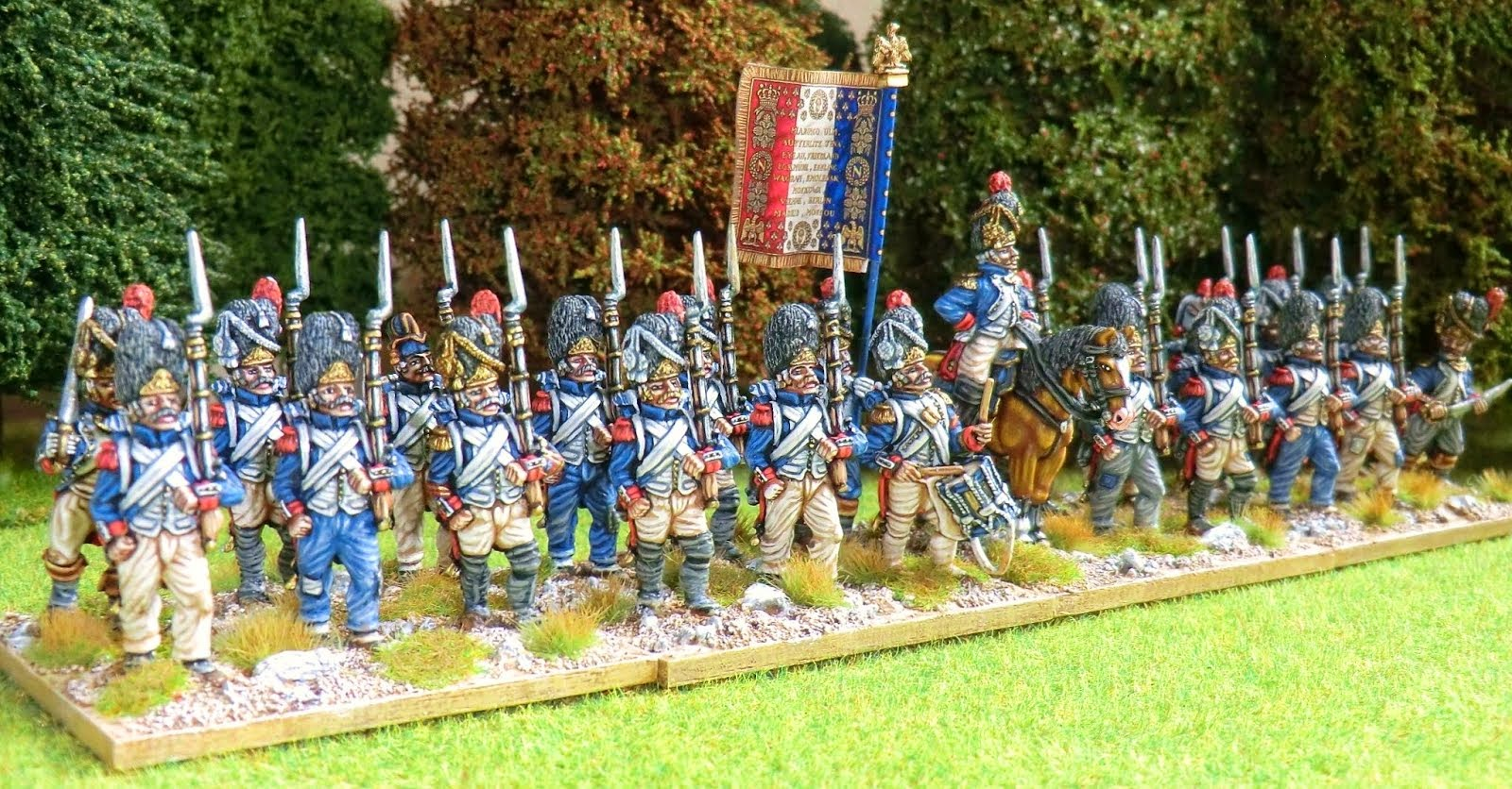 French Napoleonic old guard