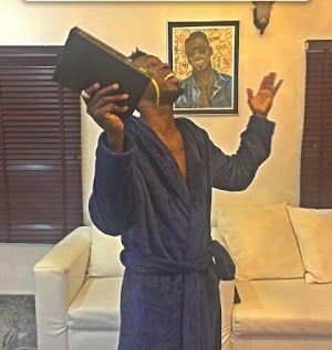 God I need only Neymar and May weather in my church.. Pop singer Orezi  Prays, fans reacts(See Reactions Screenshots)