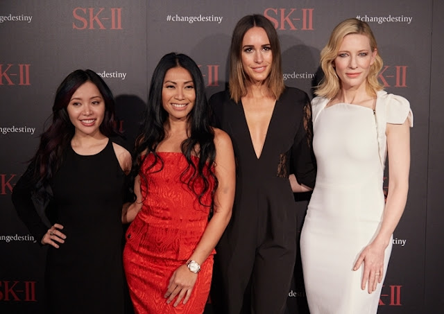 Inspire, Empower Women, go Beyond Their Limits, cate blanchett, Michelle Phan, anggun