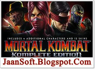 Mortal Kombat 9 Komplete Edition 2021 PC Game Download