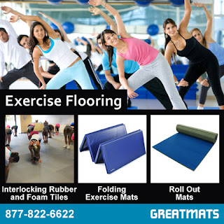 Greatmats exercise flooring