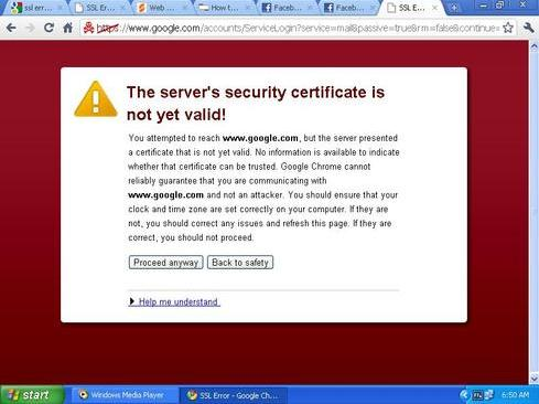 SSL-error- problem-and-how-long? Choose-the-right-answer!!