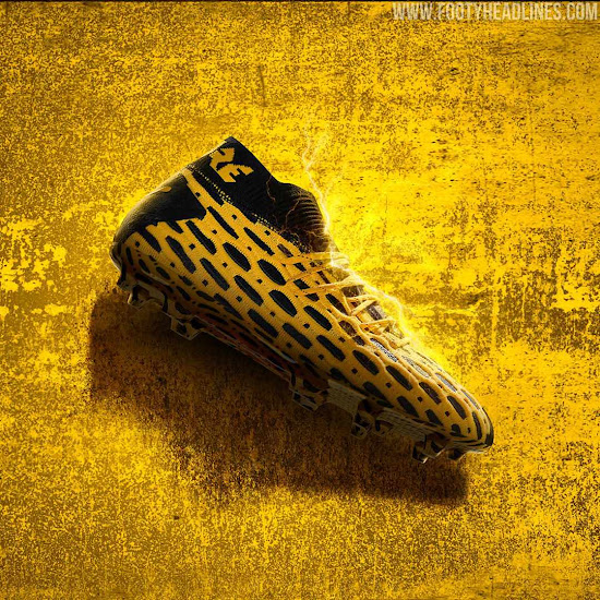 Bold Yellow / Black Puma Future 5.1 Boots Released - Spark ...