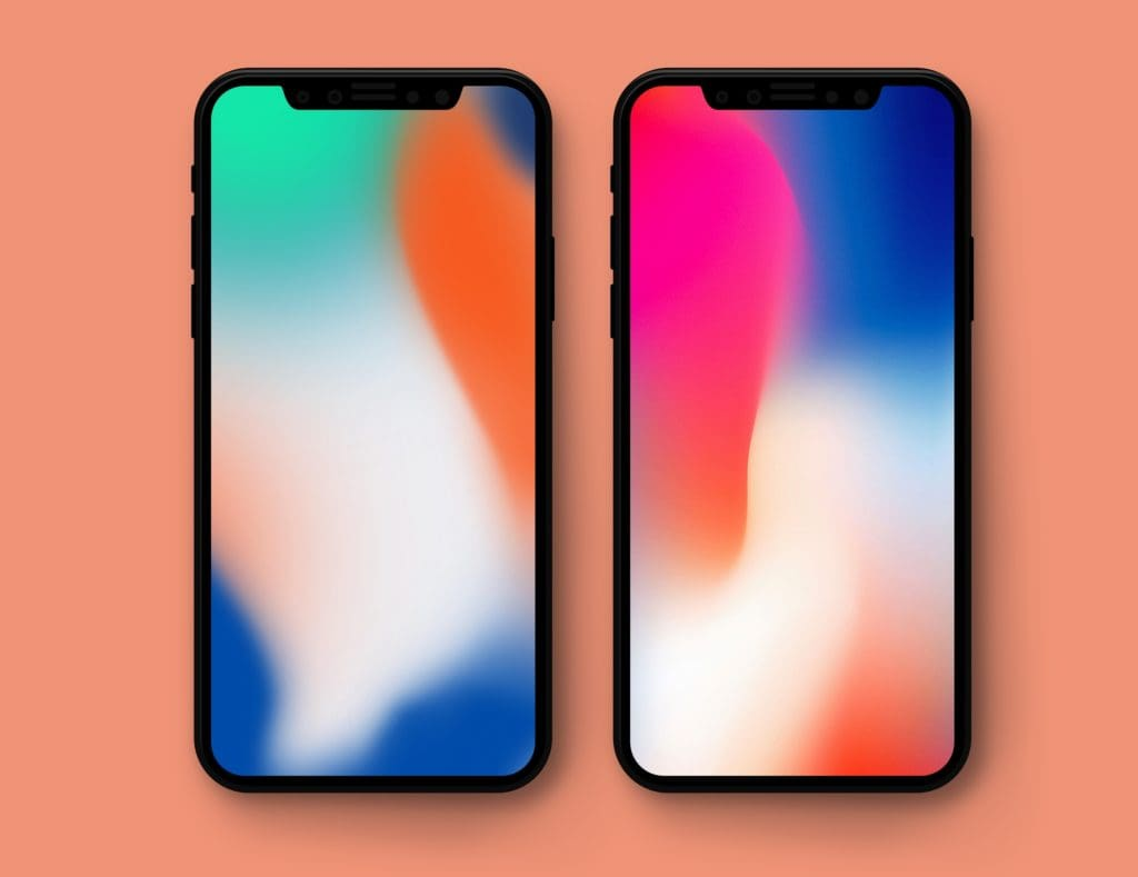 Want to get the wallpaper of iPhone X on your older iPhone? Though these wallpapers are used for advertising.  Here's a that iPhone X wallpaper for download