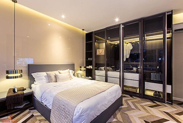 Phòng ngủ dự án Hateco Huỳnh Thúc Kháng