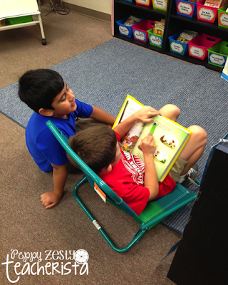 Daily 5 Classroom Library organization