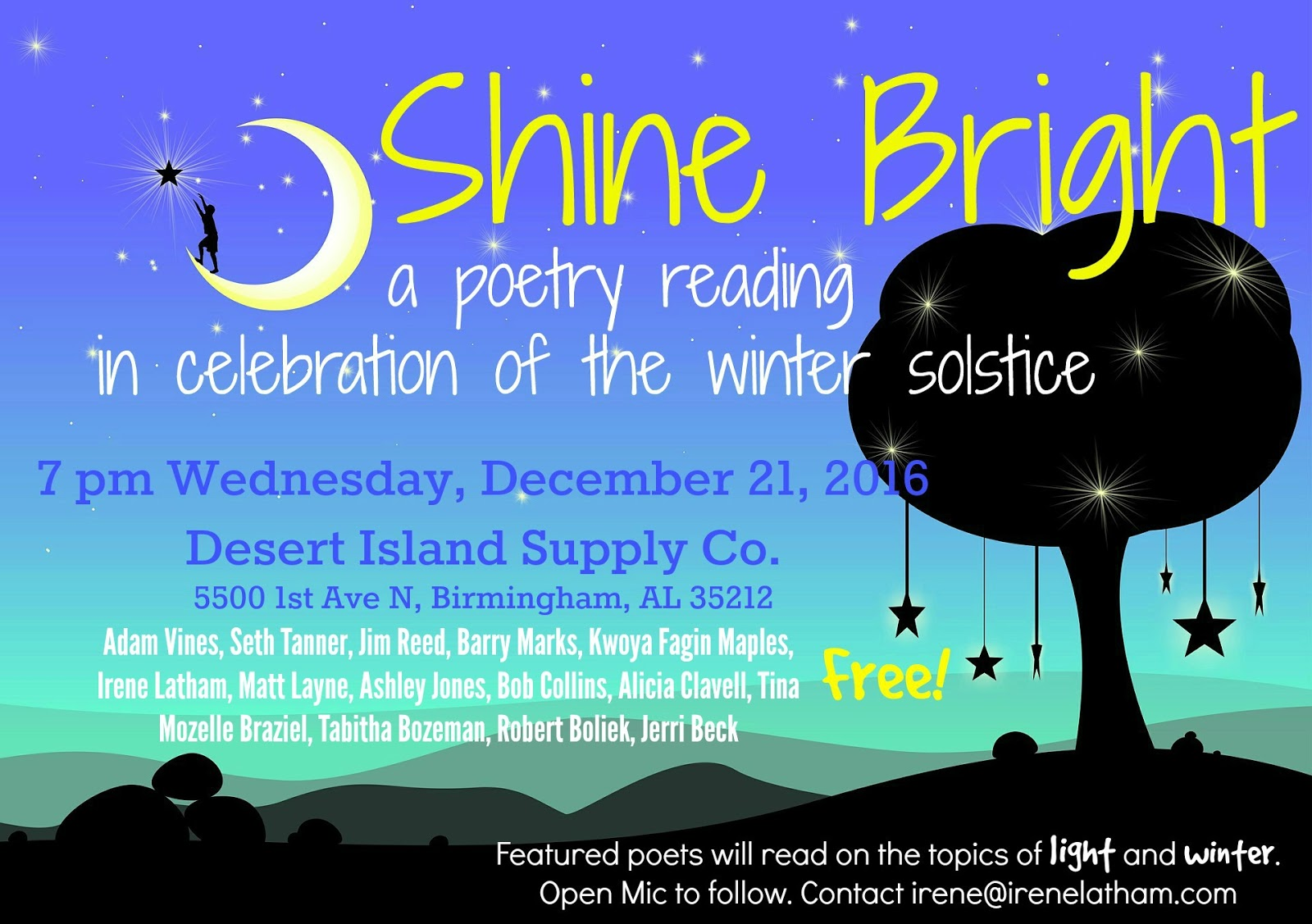 Live Your Poem Poem For The Winter Solstice