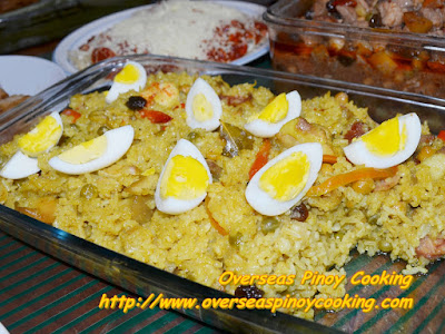 Pinoy Arroz Valenciana - Recipe