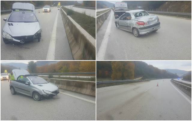 Σοβαρό τροχαίο στην Εγνατία Οδό, με μία σοβαρά τραυματία (+ΦΩΤΟ)