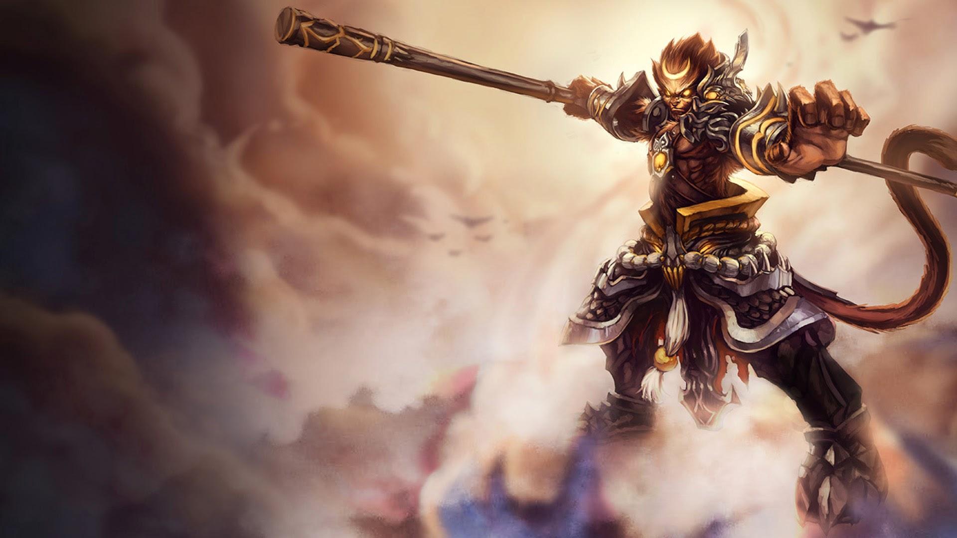 Dota 1 Heroes Wallpaper Hd General Wukong League Of Legends 13 Wallpaper Hd