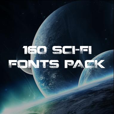 Download 160 Sci-Fi Fonts Pack Free Download Format rar, zip ...