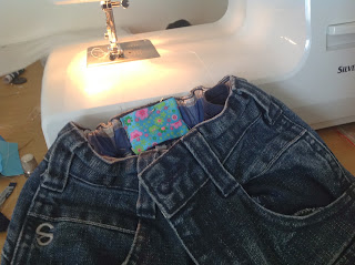 kid jeans refashion