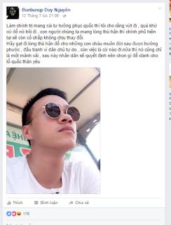 Hotboy dân chủ Duy Nguyễn là an ninh chìm?