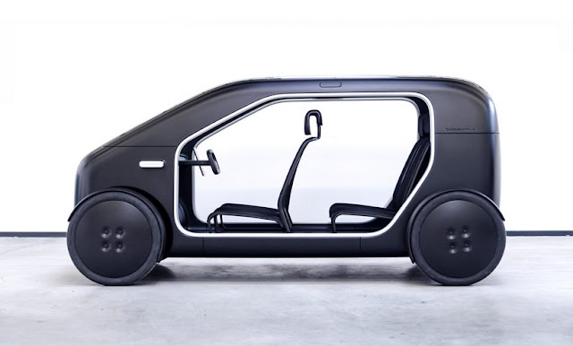 This electric urban car is simplicity redefined
