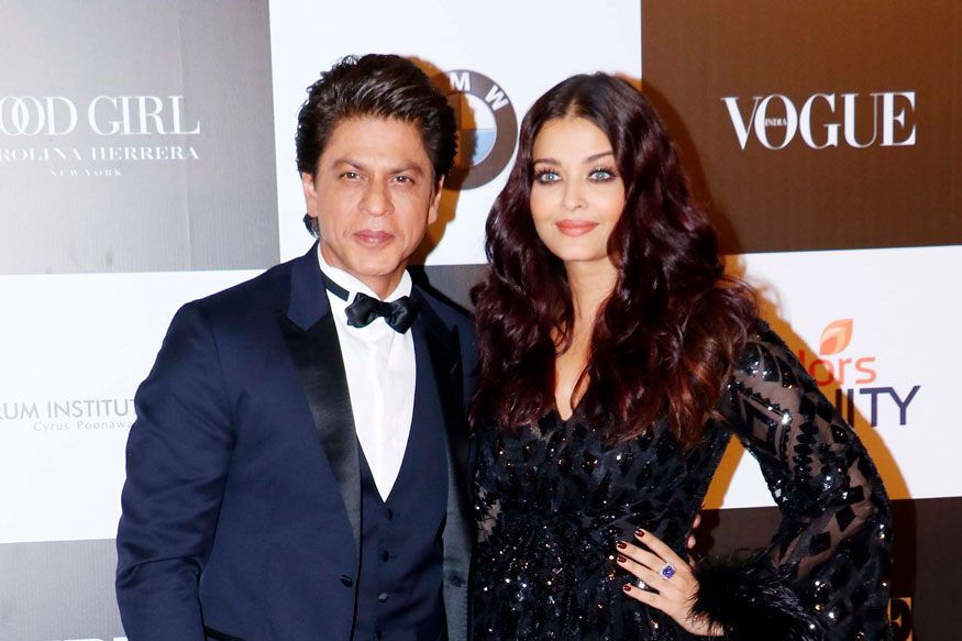 Shah Rukh Khan and Aishwarya Rai Attend The 'Vogue Women of the Year Awards 2017