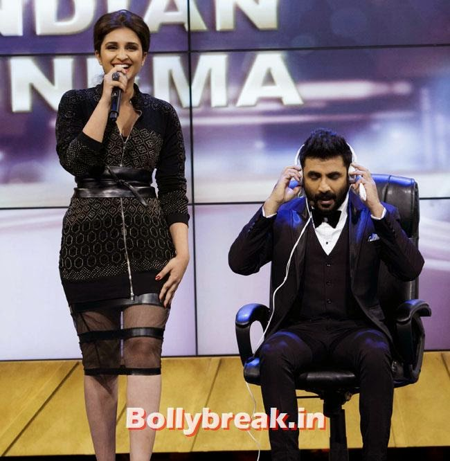 Parineeti Chopra and Vir Das, IIFA Awards 2014 Pics