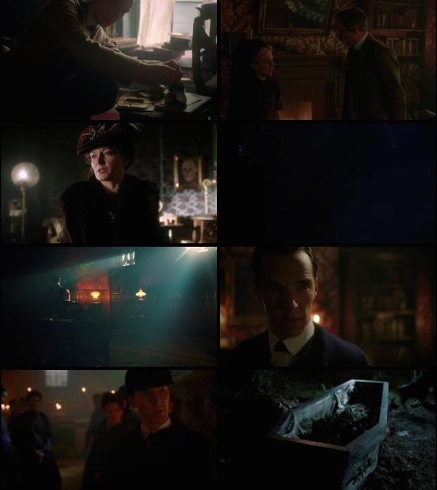 Sherlock The Abominable Bride 2016 BRRip 720p x265 500mb ESubs