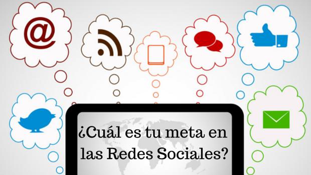 ¿Cuál es el propósito de su presencia en las Redes Sociales?