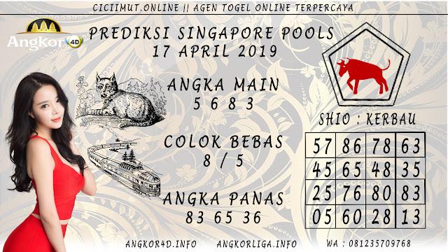 Prediksi Angka Jitu SINGAPORE POOLS 17 APRIL 2019