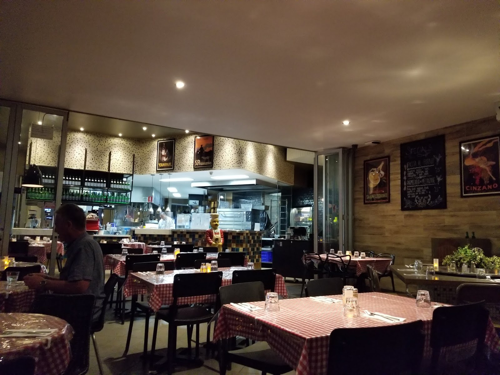 Cucina Restaurant Southbank Brisbane Espresso Matcha Papa Rossi Southbank
