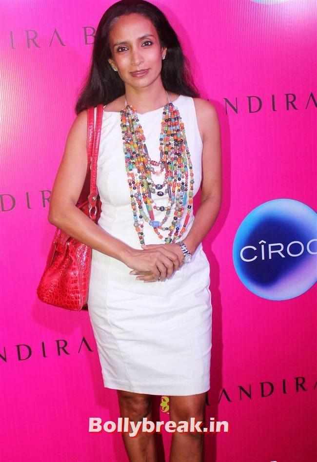 Suchitra Pillai, Mandira Bedi Sari Store Launch Photos