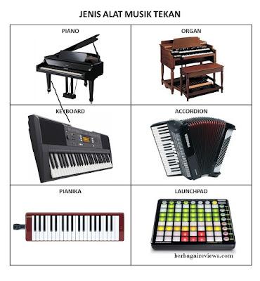 Alat musik tekan atau sentuh - berbagaireviews.com