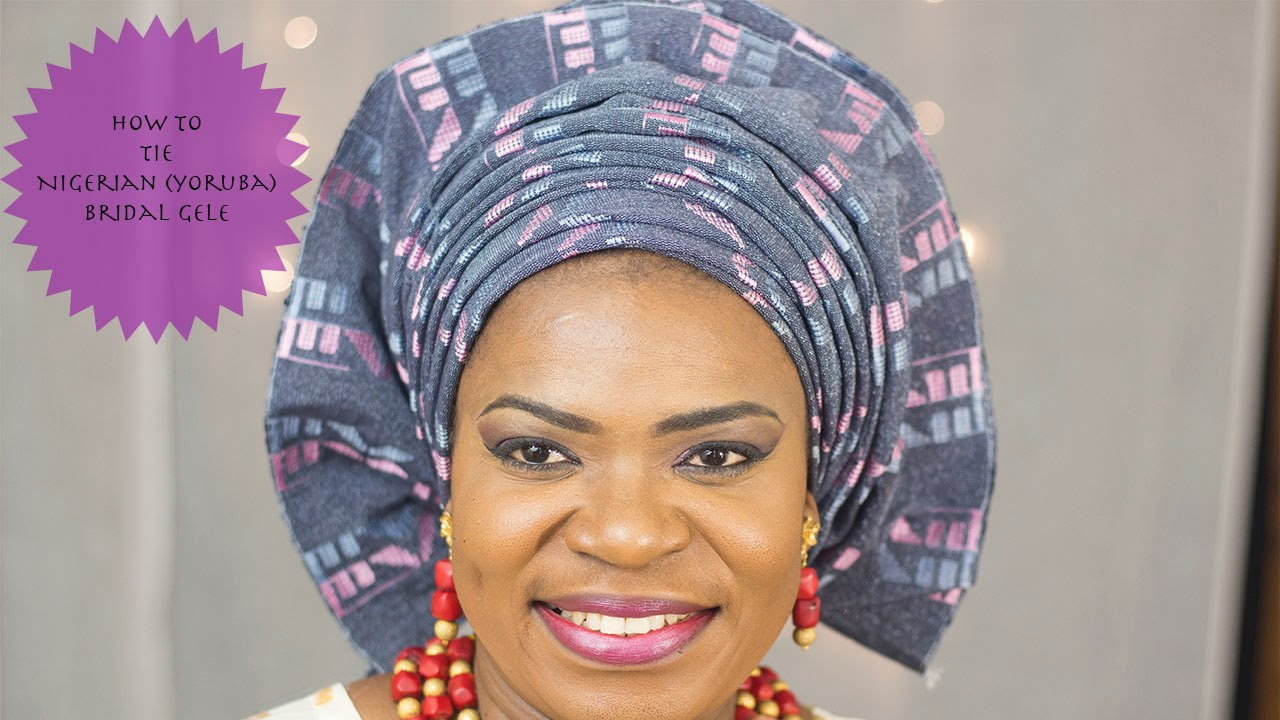 Download gele tutorial video how to tie nigerian yoruba bridal learn how to tie lovely nigerian yoruba bridal gele with rola otems rola otems who describe herself as being passionately in love with fashion especially ccuart Choice Image