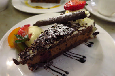 Melbourne, Hopetoun Tea Rooms, black forest cake
