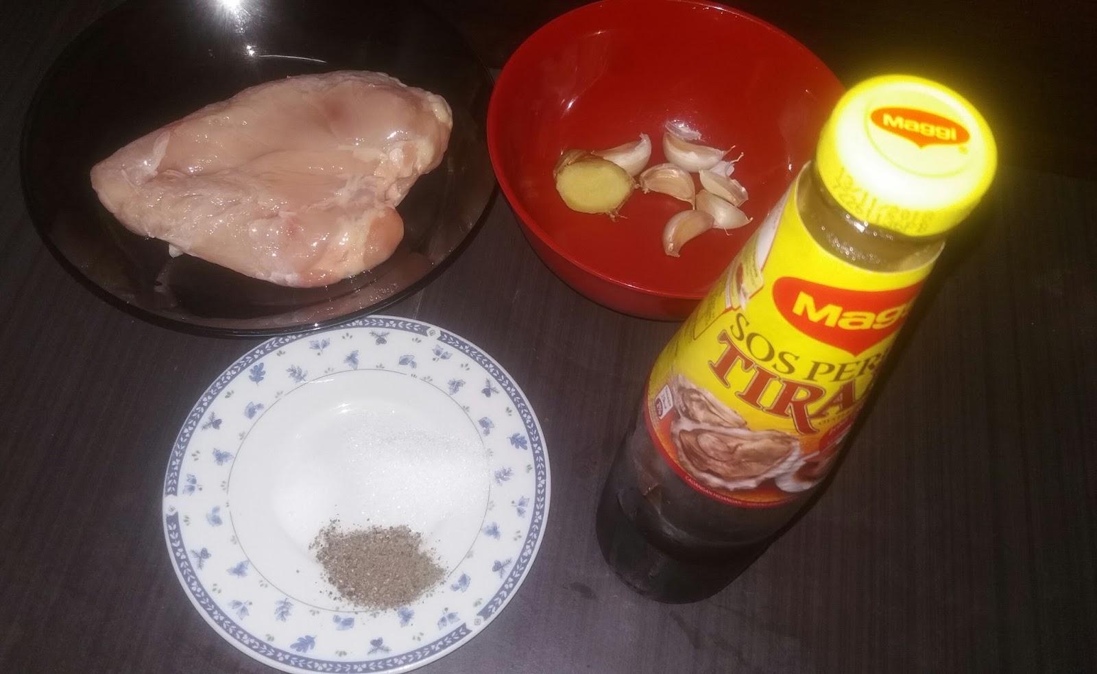 Resepi Ayam Panggang Orang Diet (Mudah dan Cepat)