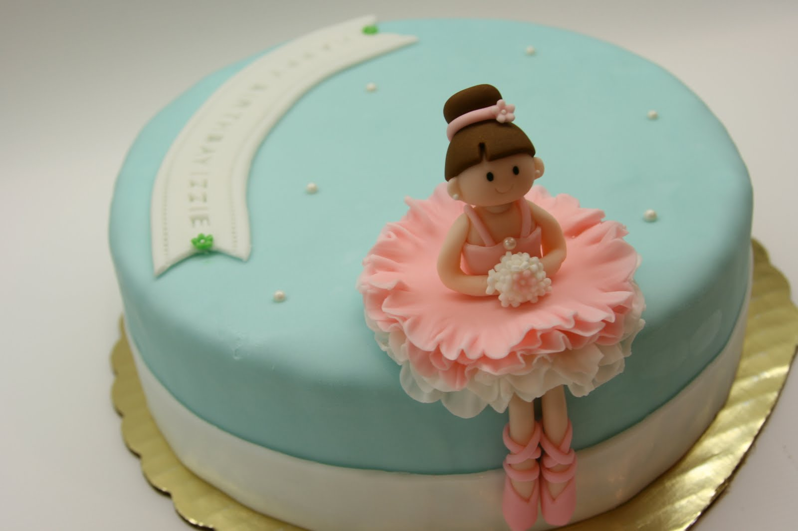 Beautiful Kitchen Ballerina Cake