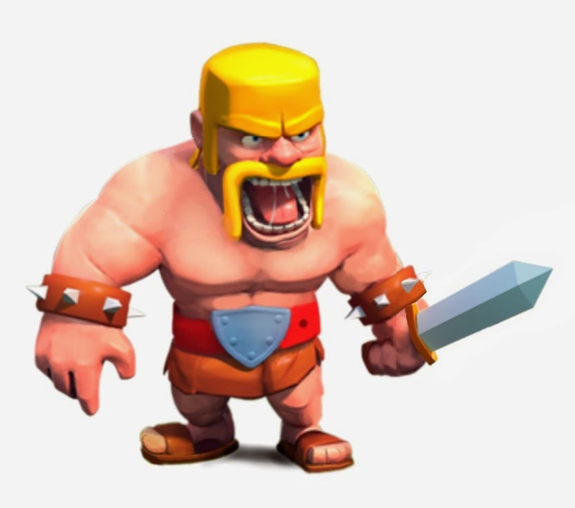 Clash of Clans Barbarian | Clash of Clans Wallpaper