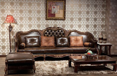 sofa jog kulit newah