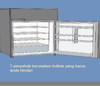 7 penyebab kerusakan kulkas yang harus anda hindari