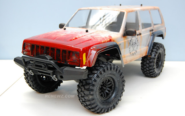 Traxxas TRX-4 zombie hunter