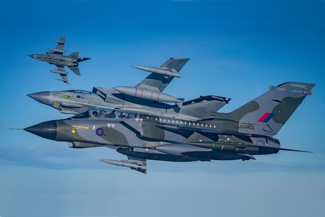RAF commemorates Tornado