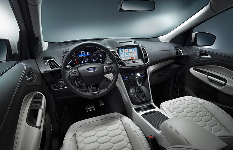2018 ford kuga. brilliant kuga 2018 ford kuga vignale dashboard pictures and photos  new crossover suv  images 2017 in ford kuga m