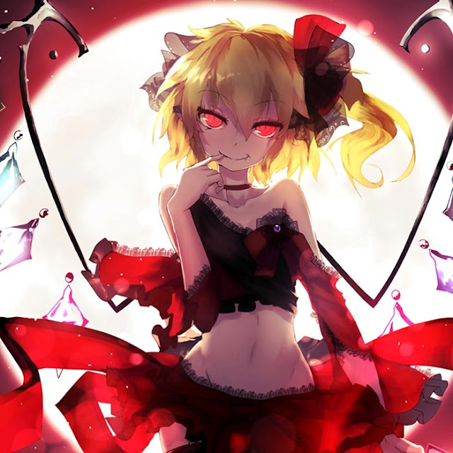Toho Devil's Younger Sister Flandre Scarlet Wallpaper Engine