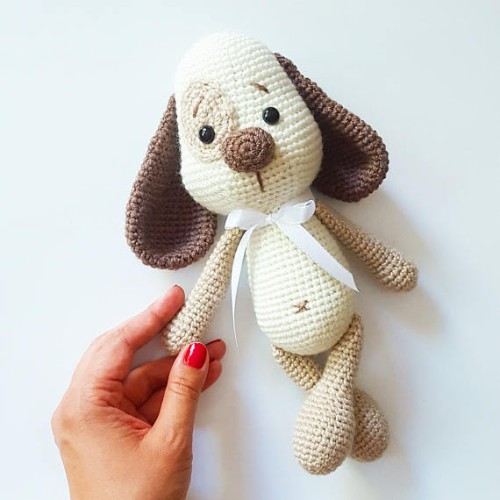 Henry the Little Dog - Amigurumi Crochet Pattern